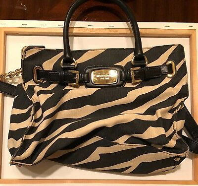 b805c9a47c1e Authentic michael kors zebra hamilton purse brand new never used without tag