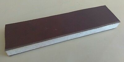 """10"""" X 2.5"""" Leather Sharpening Strop  Double Sided, Smooth & Suede Sides"""