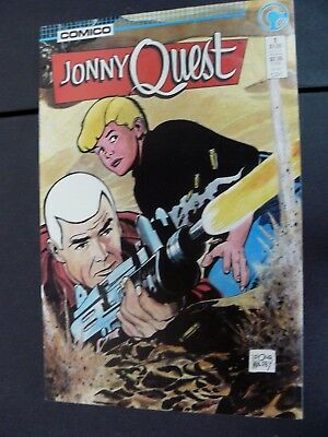 Jonny Quest #1 Vf/nm Comico Comics 1986