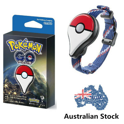Pokemon GO Plus Bracelet with Clip Bluetooth Wristband Smartband Gift AU STOCK