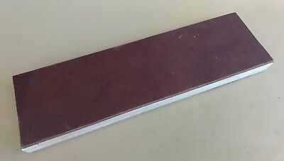 "12"" x 3.5"" Leather Sharpening Strop, Double Sided, Smooth & Suede Sides ,"