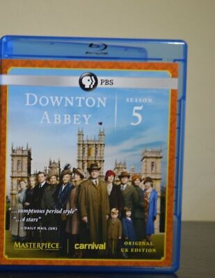 Masterpiece: Downton Abbey Fifth Season 5 Five [Blu-ray]