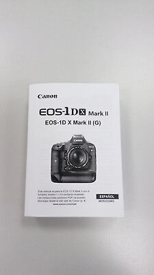 Manual Canon EOS 1DX Mark II (Castellano)