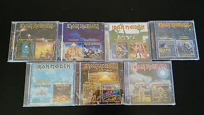 Iron Maiden - 12 Albums 7 Cd - Ed Spécial Russe Collector Neuf Unica Ebay