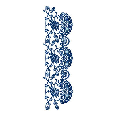 Tattered Lace ORNAMENTAL LACE TREILLAGE Die - TLD0668 - FREE 1st CLASS UK P&P