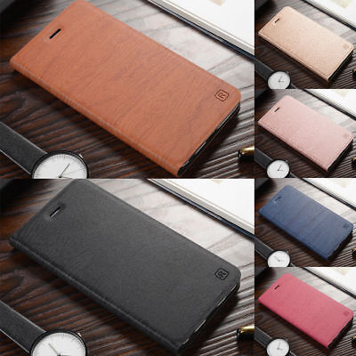 For Xiaomi Redmi 5 6 Pro Note 7 4X 5A 6A Business Leather Flip Wallet Case Cover