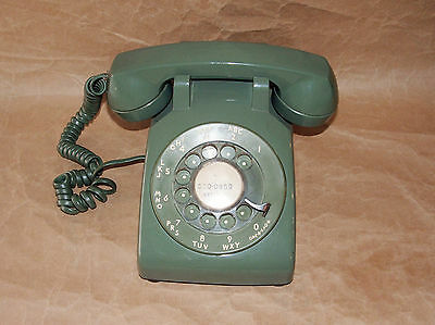 Vintage Rotary Desk Telephone: Western Electric Bell System 500 DM / CD 500