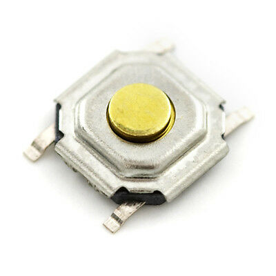 6 x Mini Push Button Switch SMD/SMT Momentary SURFACE MOUNT TECHNOLOGY Tactile