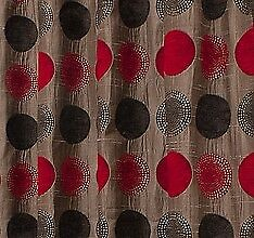 Arnex - Red - Large Fabric Remnant - 16cm Long x 136cm Wide