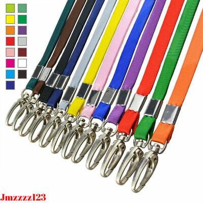 2 PCs Lanyard ID Lobster Clip Name Tag ID Card Holder Neck Strap *AUSSIE SELLER*