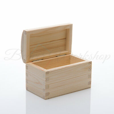 WOODEN STORAGE BOX, Wooden Gift Box, Small wooden box with lid 16x10x10cm