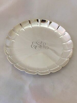 Vintage Tiffany & Co. Makers 925 Sterling silver Nut Dish 25021