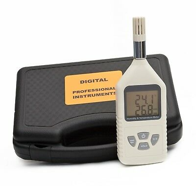 Ce Approved Digital Handheld Humidity And Temperature Meter Hygrometer Lcd