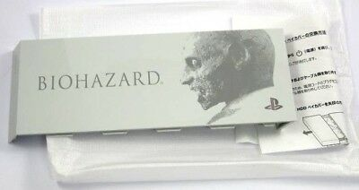 BIOHAZARD HD - white version HDD bay cover PS4 Limited Playstation resident evil