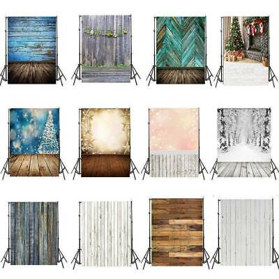 Vintage Wood Plank Theme Photography Backdrops Vinyl Studio Photo Prop 3x5/5x7ft