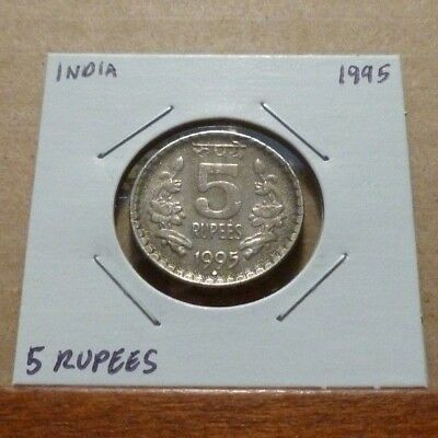 5 RUPEES COIN - 1995 - India