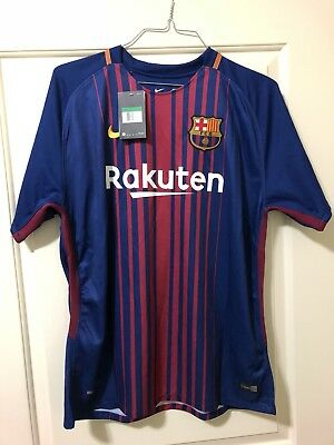 8d2a02f1c4 BARCELONA FC HOME nike jersey 2016-2017 100% AUTHENTIC -  45.00 ...