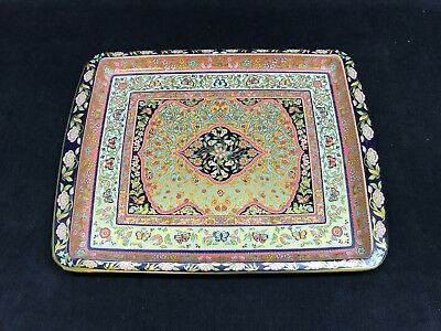 Daher Decorated Ware Tray Made In England Fascinating Daher