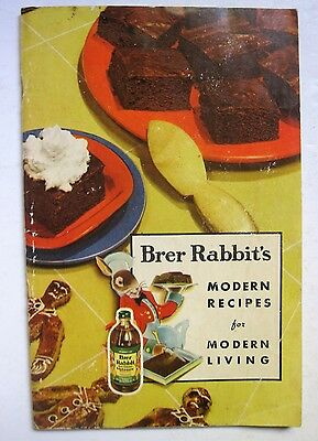 Brer Rabbit Modern Recipes New Orleans Molasses Cookbook Gingerbread '41 Ad icon
