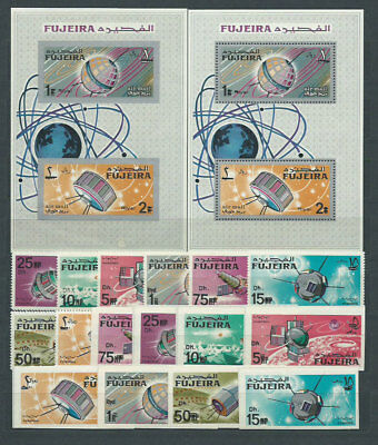 South Arabia Este (Dubai) - Lollini Mail SR.1A/2A+H.248F7/8 Mnh Astro