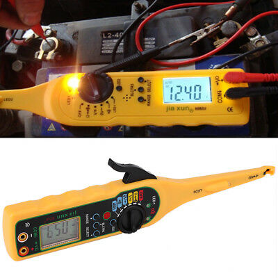 Multi-function Auto Circuit Tester Multimeter Lamp Probe Car Repair Voltage Pen