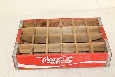 Coca Cola Crate Caddy Carrier Advertising Wooden 24 Slot NICE !!!