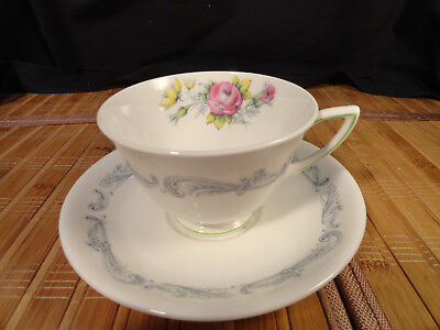 ROYAL DOULTON CHANTILLY ROSE Cup and Saucer