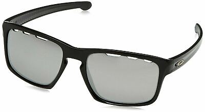 f663d89b3c  OO9262-4257  Mens Oakley Sliver Vented Sunglasses Polished Black Chrome  Iridium