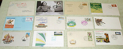 bulk two. unusual cancels or envelopes - first day covers