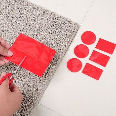 Rug Carpet Mat Grippers Floor Pad Non-slip Waterproof Grip Plastic Sticker 8PCS