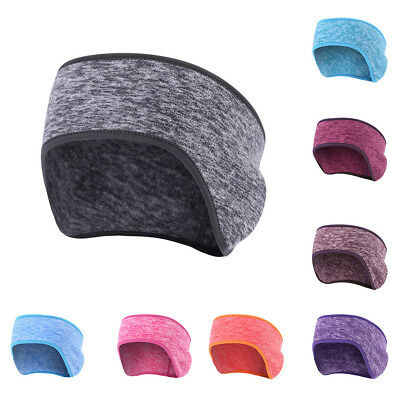 Outdoor Cycling Headband Full Cover Ear Warmer Basketball Running Head Band AU