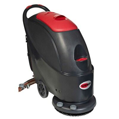 VIPER AS430B Battery Operated Compact Walk Behind Scrubber Dryer