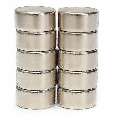 100Pcs 10x5mm Rare Earth Super Strong Magnets Disc Round Cylinder Neodymium N52