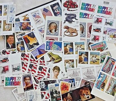 New 75 of Multiples & Strips & Singles of 37¢  US PS Postage Stamps. FV: $27.50
