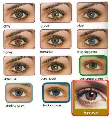 Fresh Colored Contact Lenses lentilles Coluer Coloured Contacts Lens Color
