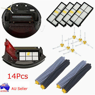 14 PCS Accessories for iRobot Roomba 800 870 880 900 980 Spare Parts Brushes Kit