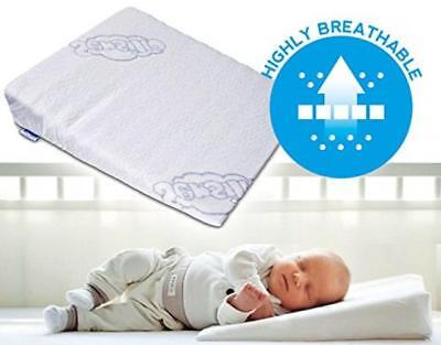 BRAND NEW Baby Wedge Anti Reflux Colic Pillow Cushion For Pram Crib Cot Bed...