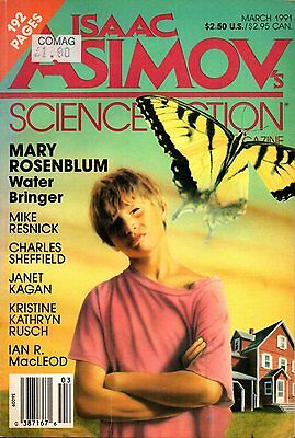 Isaac Asimov's Science Fiction March 1991