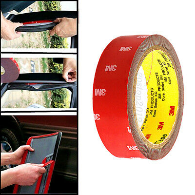 3M x 5,6,10,12,20 MM Vehicle Double Sided Sticker Car Adhesive Acrylic Foam Tape