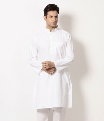 Kurta Pajama Silk Indian Pyjama Hand Made Yoga Clothing Mens Summer Party Wear