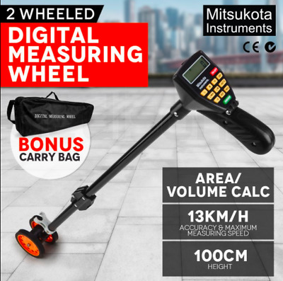 100cm Digital Measuring wheel 99.9% accuracy 7-digit LCD Walking Digital Measure