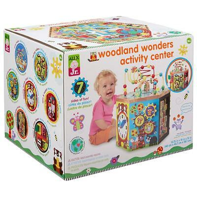 Childrens Toddlers Woodland Wonders Educational Activity Centre Toy
