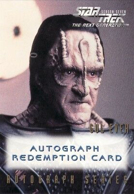 Star Trek TNG Season 7 Richard Poe Unreleased Redemption Card