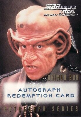 Star Trek TNG Season 7 Lee Arenberg Unreleased Redemption Card