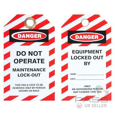 Do Not Operate - Maintenance Lockout - Pack of 10