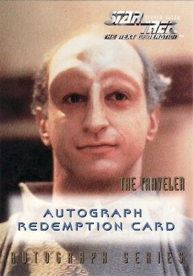 Star Trek TNG Season 7 Eric Menyuk Unreleased Redemption Card