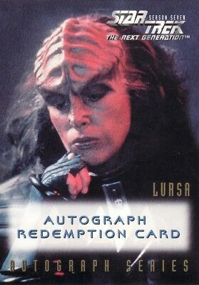 Star Trek TNG Season 7 Barbara March Unreleased Redemption Card