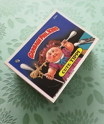 Garbage Pail Kids Card Lot Topps Original Series 9 Complete 88 Variation Set