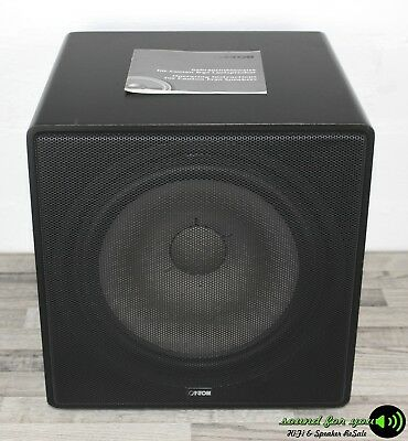 teufel us 2108 0 sw passiv subwoofer lautsprecher bass. Black Bedroom Furniture Sets. Home Design Ideas