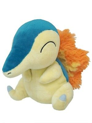 Brand New Sanei Pokemon Go All Star Collection PP41 Cyndaquil Stuffed Plush Doll